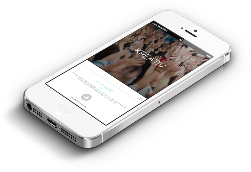Webdesign Trends 2015 - I Phone