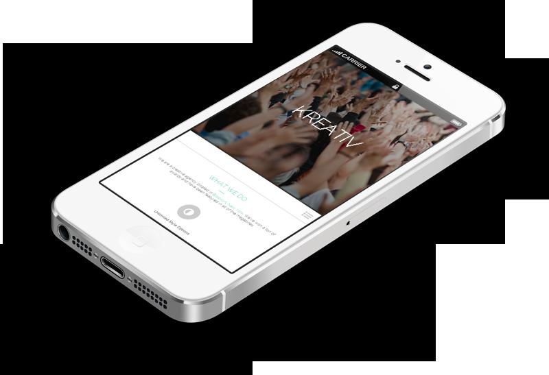 Webdesign Trends 2015 - I Phone